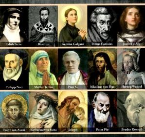 Mit den Heiligen durchs Jahr